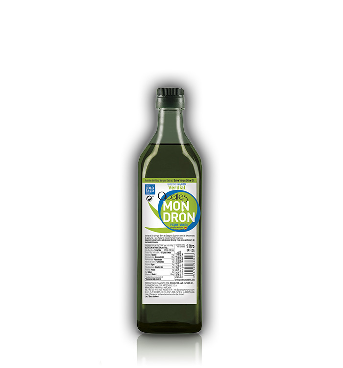Aceite de Oliva Mondrón Virgen Extra VERDIAL 1L. PET