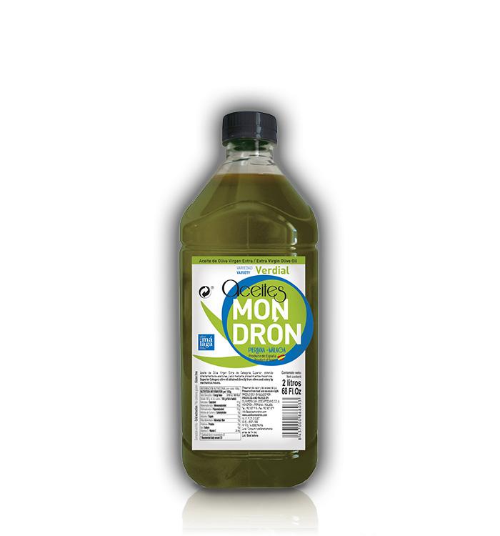 Aceite de Oliva Mondrón Virgen Extra VERDIAL 2L. PET