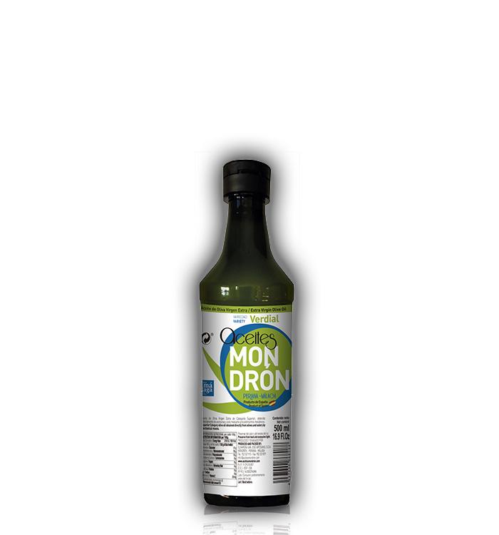 Aceite de Oliva Mondrón Virgen Extra VERDIAL 500ml. PET