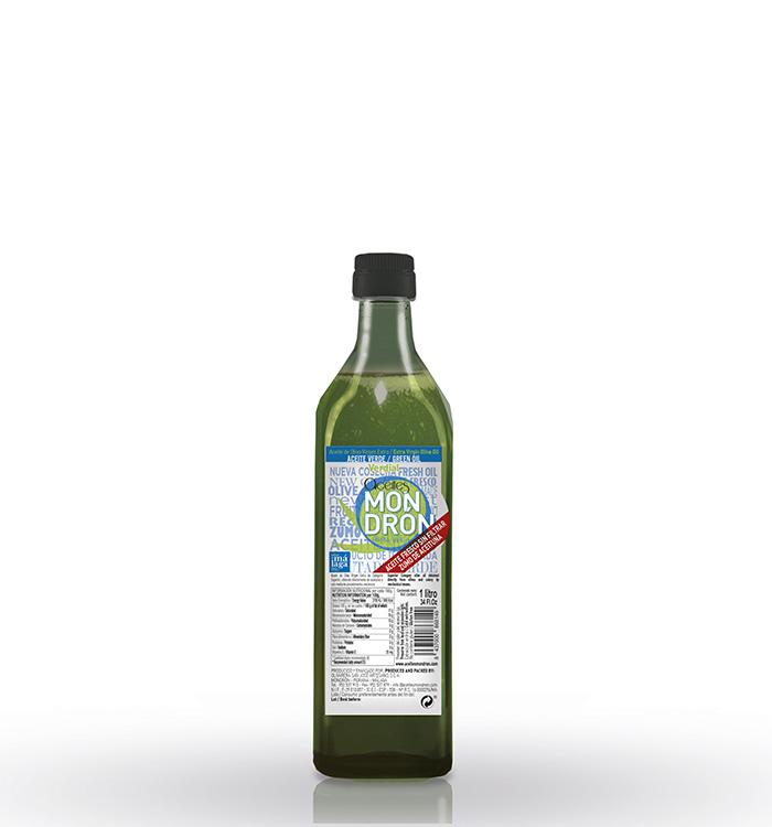 Aceite de Oliva Virgen Extra, Fresco Sin filtrar Verdial 1L